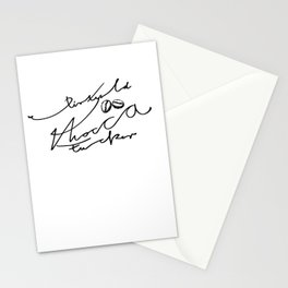 Dirty old Mocca fucker Stationery Cards