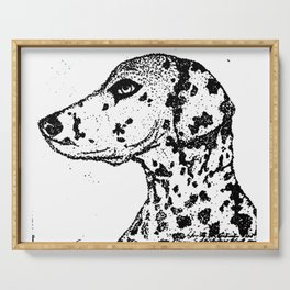 Dalmatian Dog Serving Tray