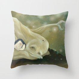Delfindelmundo Throw Pillow