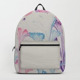 Pink, Lilac, and Blue Flowers 33 Backpack