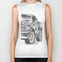 mustang Biker Tanks featuring Mustang by WNN Creations