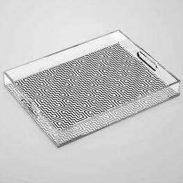 Op Art 150 Acrylic Tray