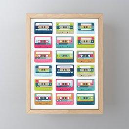 Mixtape Monday Framed Mini Art Print