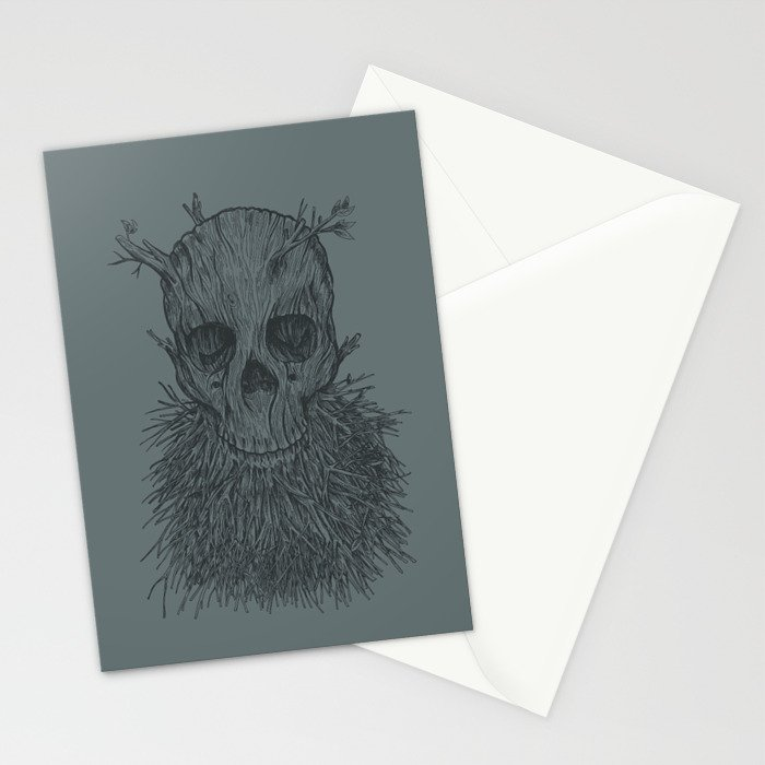 The Lumbermancer (Grey) Stationery Cards