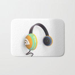 3D wifi headphones Bath Mat