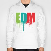 edm Hoodies featuring EDM Lover by DropBass