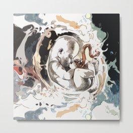 In Utero - Baby Metal Print