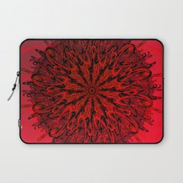 Blood Red & inked Laptop Sleeve