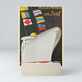 Nautical Art 30 Mini Art Print