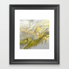 Fragment 07: The Roots of the Clouds Framed Art Print