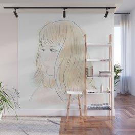 Girl No.2 Wall Mural