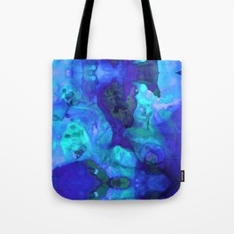 Violet Blue - Abstract Art By Sharon Cummings Tote Bag