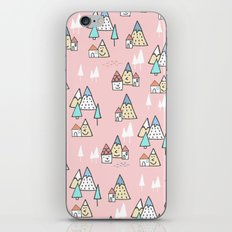 PINK MAGIC FOREST iPhone & iPod Skin