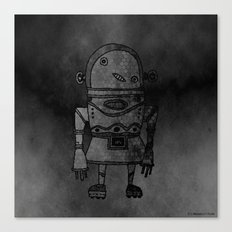 Expensive Robot Canvas Print