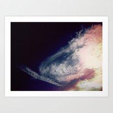 color sky 2 Art Print