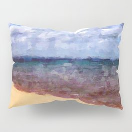 Beach Under Blue Skies Pillow Sham
