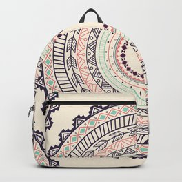 Aztec ornament pattern Backpack