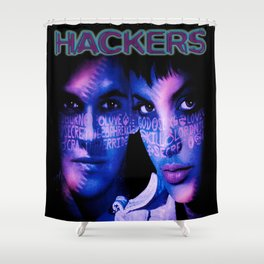 Dont Mess With Hackers Shower Curtain
