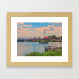 Monet style no.2 Framed Art Print