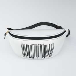 """""""BarCode"""" Fanny Pack"""
