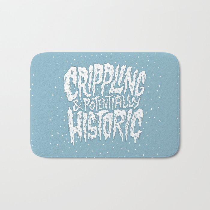Crippling & Potentially Historic Bath Mat