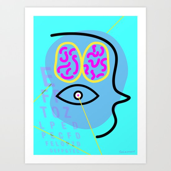 The Gift of Sight Art Print