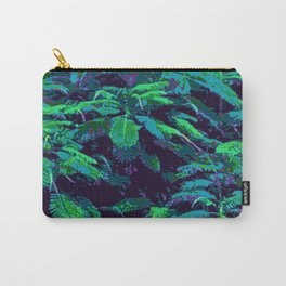 Tropical Fabric Carry-All Pouch