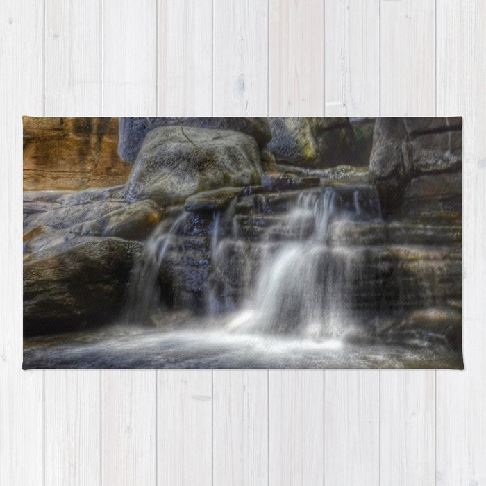 Calm Waters - Waterfall Rug