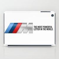 bmw iPad Cases featuring BMW M Performance 2  by kartalpaf