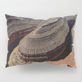 A Meander Of The Goosenecks Pillow Sham