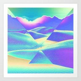 Neon Sky Art Print