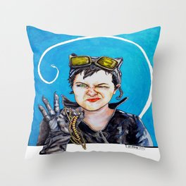 Nothing to Go Bats Over Throw Pillow