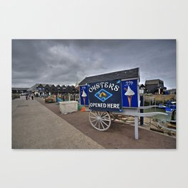 Oyster Cart  Canvas Print