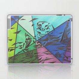 Skull Splinters and Fractures Laptop & iPad Skin