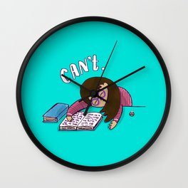 CANNOT. Wall Clock