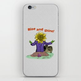 Rise and Shine  iPhone Skin