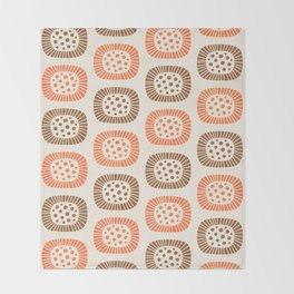 Atomic Sunburst 7 Throw Blanket