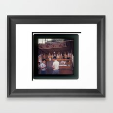 When Tove travelled to the Far East #2 Framed Art Print