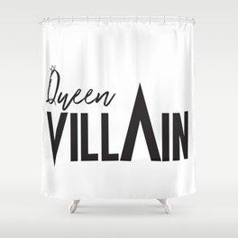 Queen Villain Shower Curtain