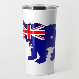 Australian Flag - Bear Cub Travel Mug