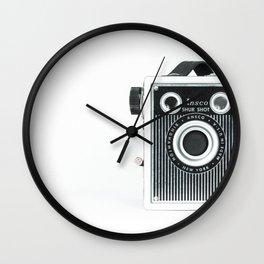 Sure Shot Vintage Camera Wall Clock