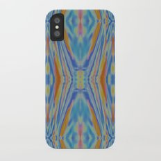 Liquid Ikat iPhone X Slim Case