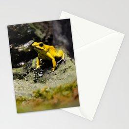 Golden Dart Frog Stationery Cards