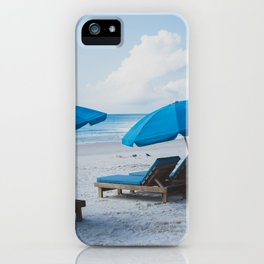Mornings at the Beach II iPhone Case