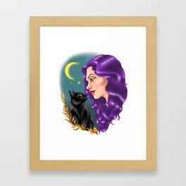 Witchy Framed Art Print