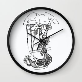 Hands of Life Wall Clock