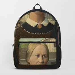 American Gothic (High Resolution) Backpack