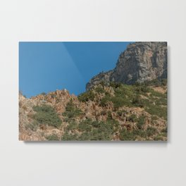 Rock Canyon Provo Utah View Landscape Mountain Photography Metal Print