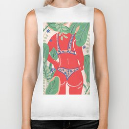 The Art Of Bikini Biker Tank