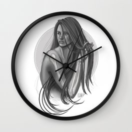 This too is temporary Wall Clock